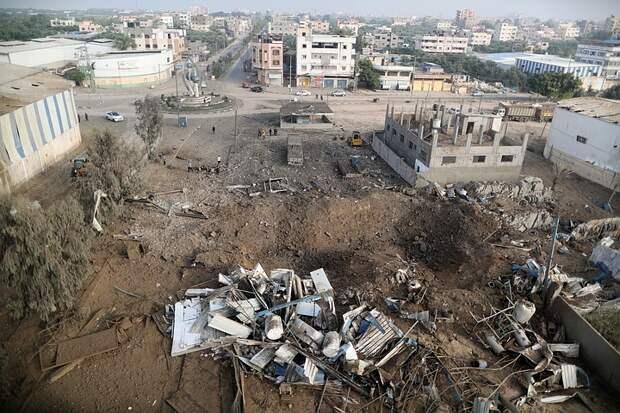 Сектор Газа выпустил за ночь более 200 ракет по Израилю