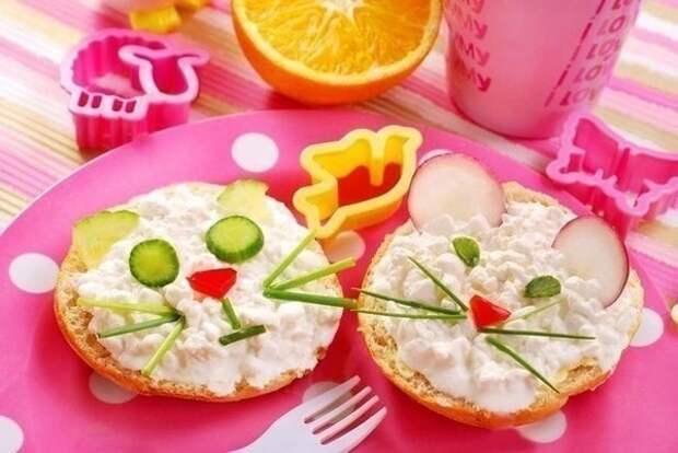 Яркие веселые блюда для детей