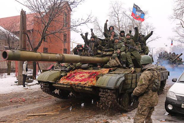 Армии Новороссии пошли в наступление по всему фронту!