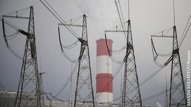 Российское электричество спасает незалежную сверхдержаву от катастрофы