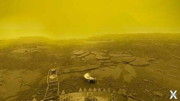 Фото советского аппарата Венера-13