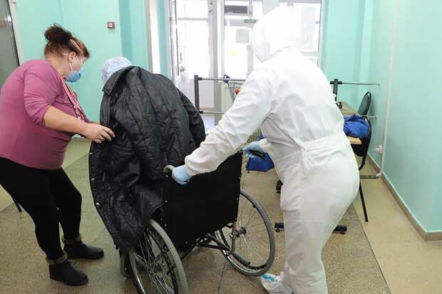 Пензенские врачи вылечили 104-летнюю женщину от коронавируса