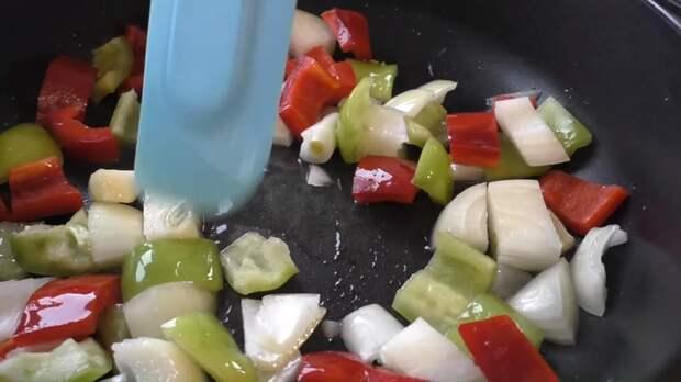 Грудка с овощами Еда, Вкусно, Куриное филе, Рецепт, Мясо с овощами, Приготовление, Другая кухня, Видео, Длиннопост