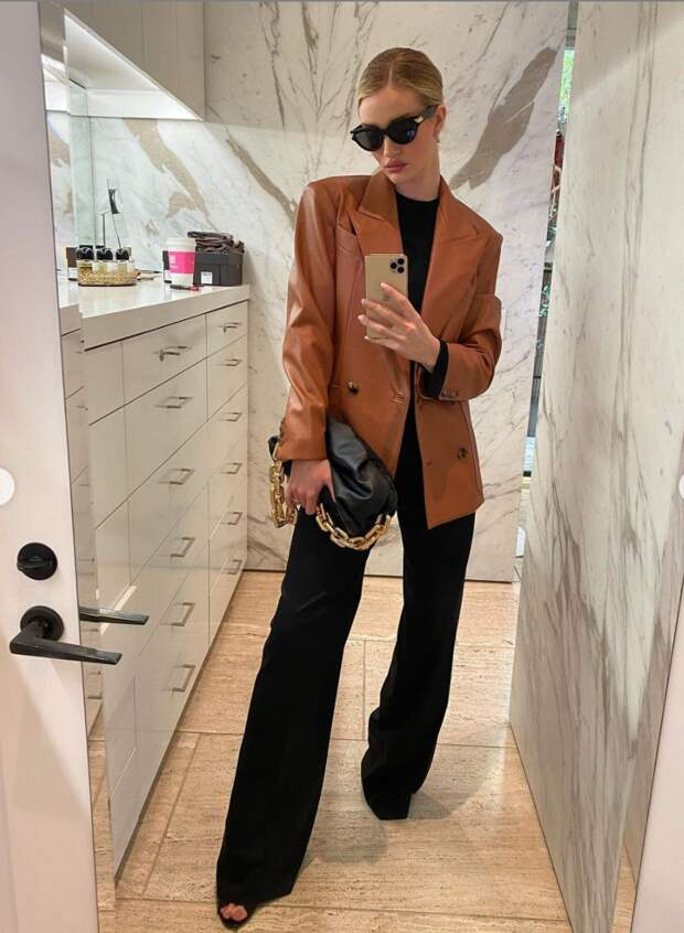 Собираем гардероб на осень в стиле модели Рози Хантингтон-Уайтли
