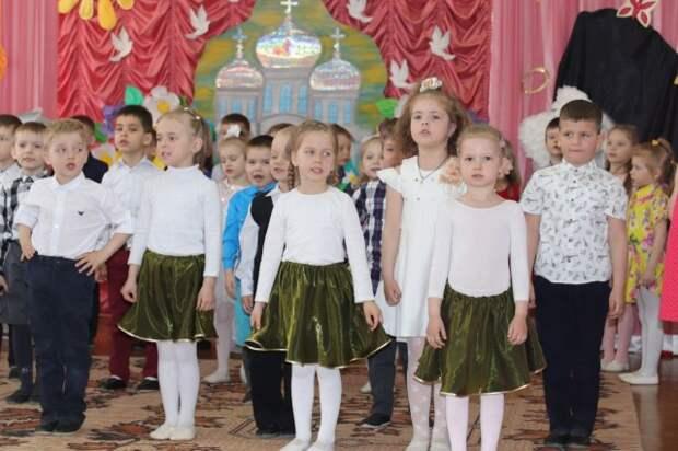 С Пасхальной радостью в детский сад