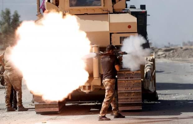 Иракский солдат