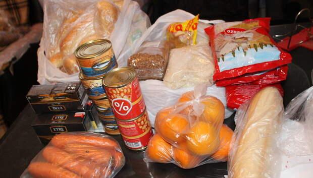 Свыше 100 заявок по доставке продуктов поступило волонтерам Подольска за апрель