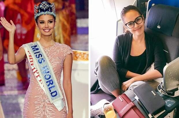 Победительницы конкурсов красоты в обычной жизни