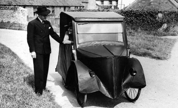 Изобретательная семья Хэнсон продемонстрировала своё умение, собрав данный экземпляр, 1931 год авто, мото, ретро