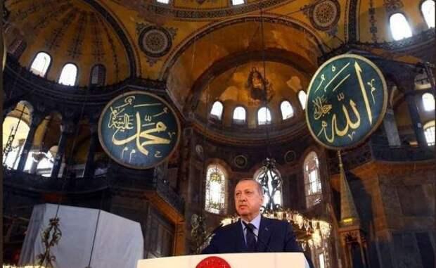 Эрдоган уполномочен напомнить: «Турция склонится только перед Аллахом»