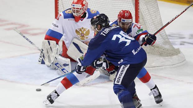 Сборная России потерпела первое поражение в Еврохоккейтуре