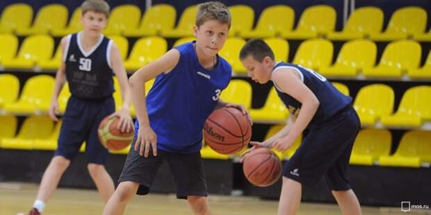 В школе №1358 начался набор в баскетбольный клуб