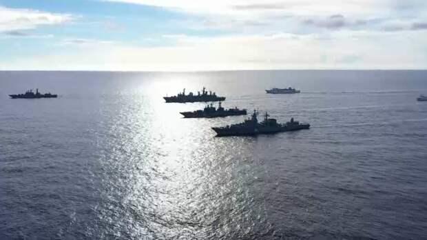 Подробности масштабных учений ВМФ в Тихом океане