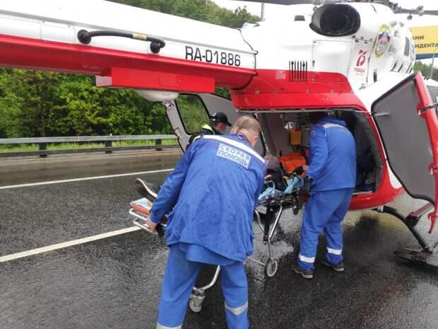 В мае сотрудниками Московского авиацентра было спасено 13 человек