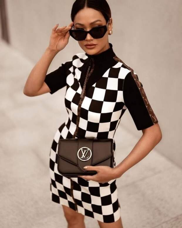 С чем носить вещи в шахматную клетку: советы