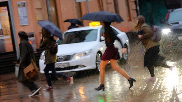 В МЧС предупредили о грозе и сильном дожде в Москве
