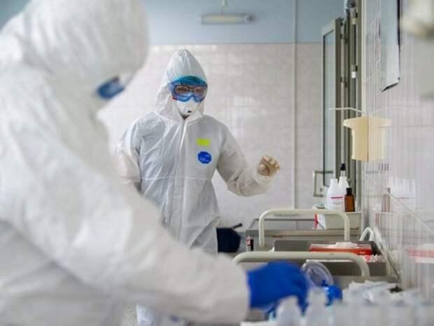 В Москве выявили более 5тыс. новых случаев COVID-19