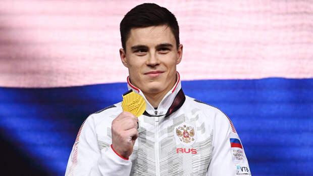 Гимнаст Никита Нагорный стал семикратным чемпионом Европы