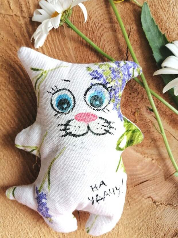 Лавандовые котики - сувениры на скорую руку