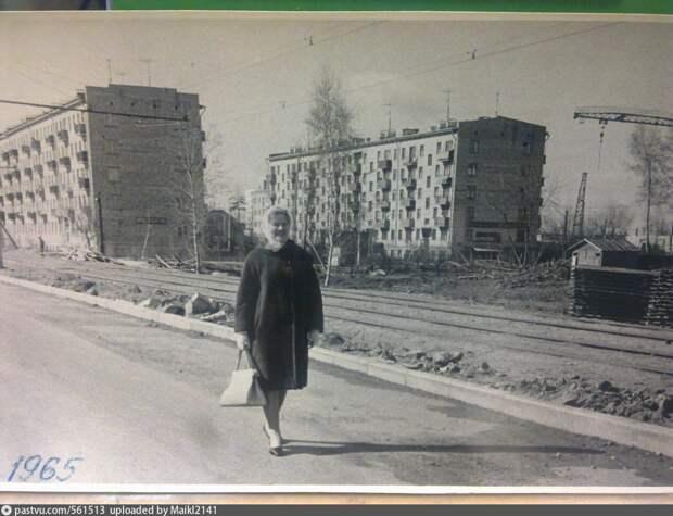 Фото дня: Енисейская улица в середине 60-х