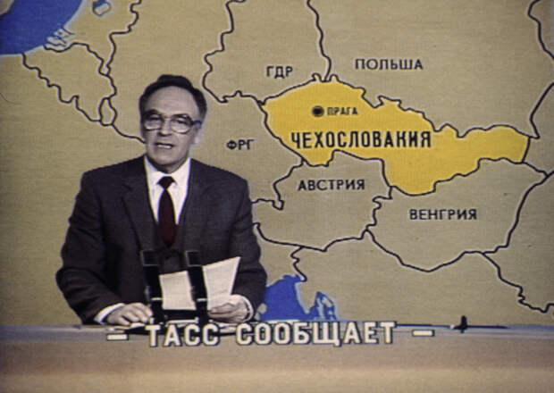 Убожество советского телевидения.