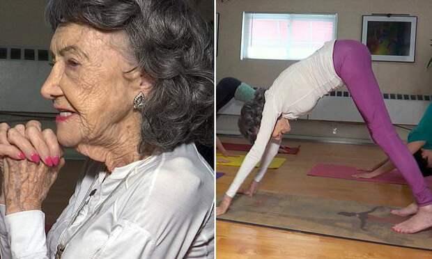 Советы для счастливой и здоровой жизни от старейшей практикующей преподавательницы йоги