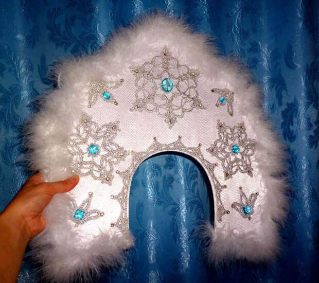 Изумительный handmade: Кокошник для Снегурочки