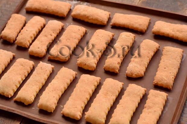 Печенье «Творожные язычки» – мягкое и слоистое, идеально к чаю, выпекается всего за 12 минут