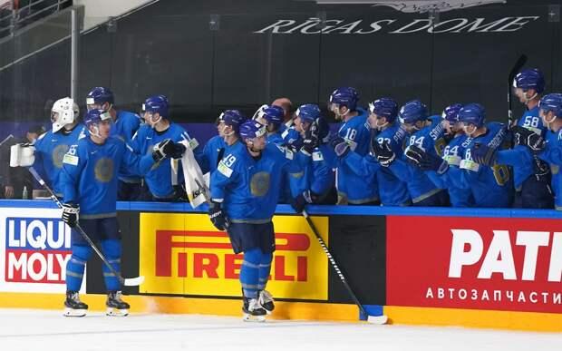 Сборная Казахстана нанесла Германии первое поражение на чемпионате мира