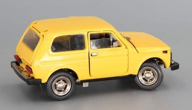 Модель «Нивы» с индексом А20 авто, автомобили, коллекционирование, масштабная модель, моделизм, модель автомобиля, хобби