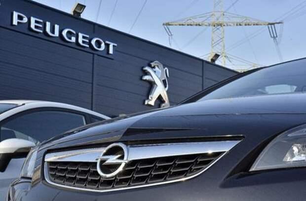 PSA Group купит Opel за 2,2 млрд евро