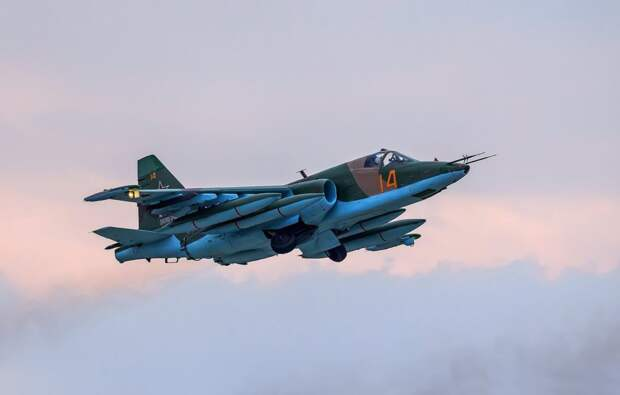 Появилась информация о гибели пилотов российского Су-25