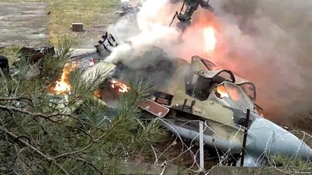Баку признал, что случайно сбил российский вертолет