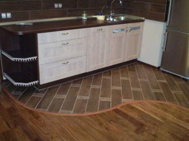Напольное покрытие для кухни - что выбрать?