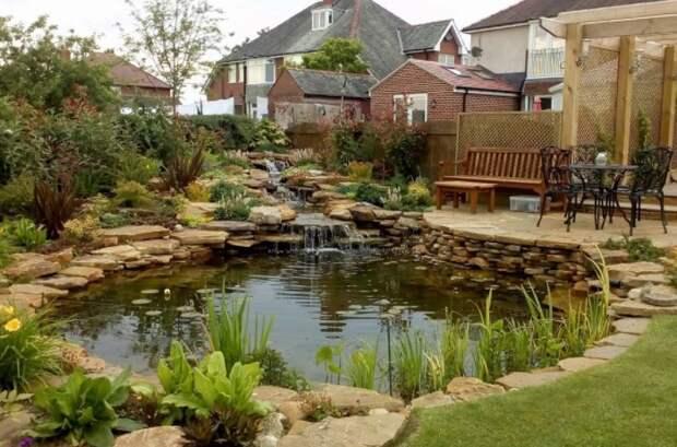 7 вариантов декоративных водоемов, которые можно обустроить на участке