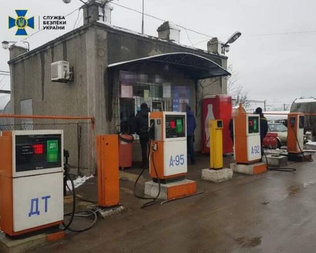 НаУкраине обнаружили более 700 нелегальных АЗС