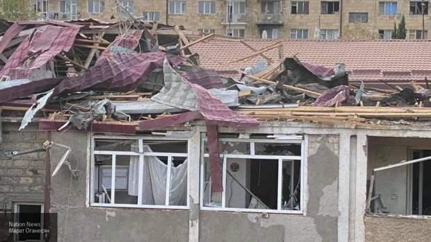 Ракетный обстрел Армении стал причиной гибели пять человек в Гяндже