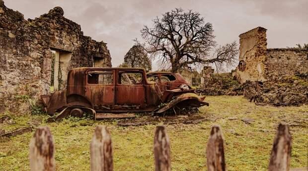 11 пугающих мест на планете, где когда-то жизнь била ключом
