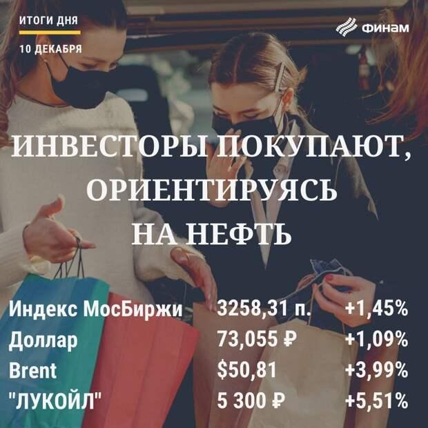 """""""Черное золото"""" помогло российскому рынку закрыть торговую сессию в """"зеленой зоне"""""""