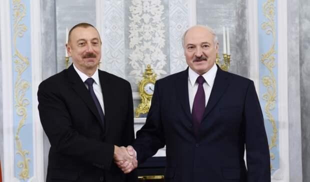Углубить сотрудничество внефтяной сфере предложил Лукашенко Алиеву