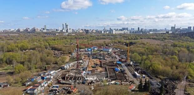 Какой будет станция «Терехово» БКЛ метро – в фотоленте