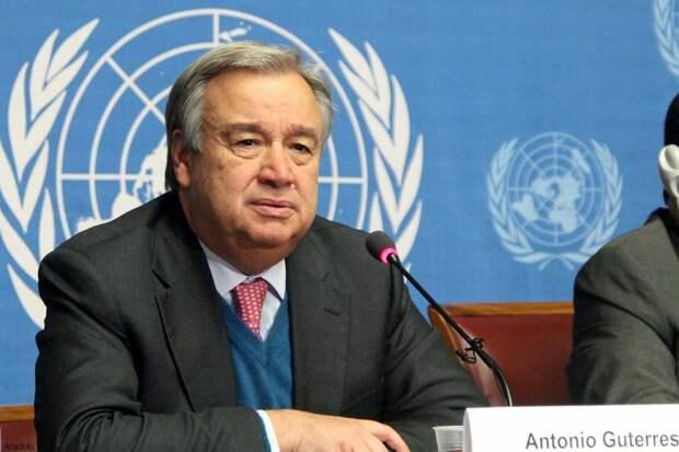 Генсек ООН призвал Израиль и Палестину к деэскалации