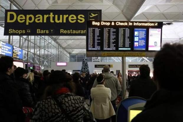 Названы британские аэропорты с худшей пассажирской логистикой