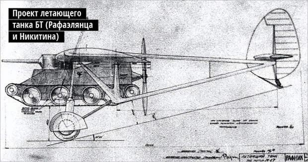 Танк среди ясного неба. История летающей боевой машины