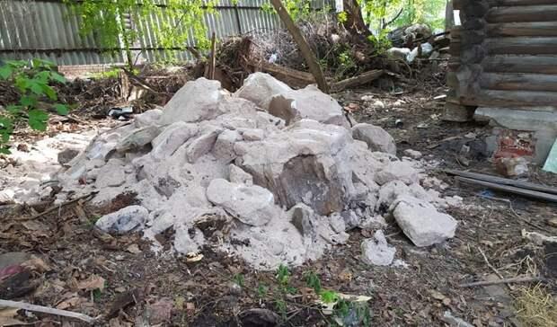 Вот это находка! Столетние запасы соли нашли при уборке вНижнем Новгороде