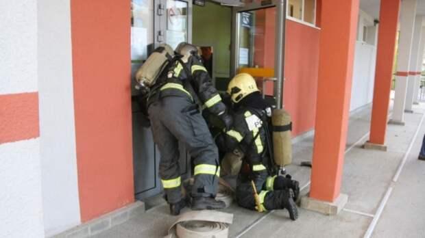 Новый детский сад загорелся под Краснодаром