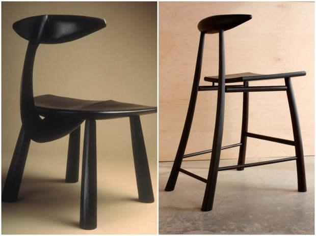 Когда за мебель берется скульптор
