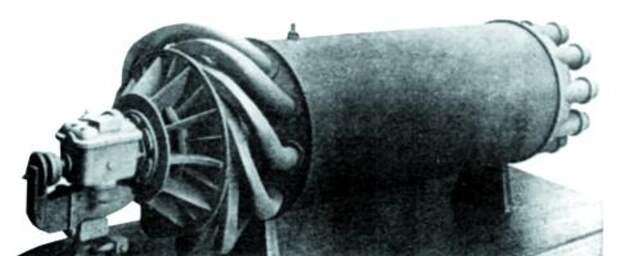 Деревянный макет двигателя W.U. (первый вариант)