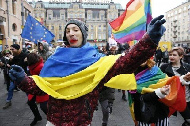 Усилия Киева в содомизации Украины оценены Западом