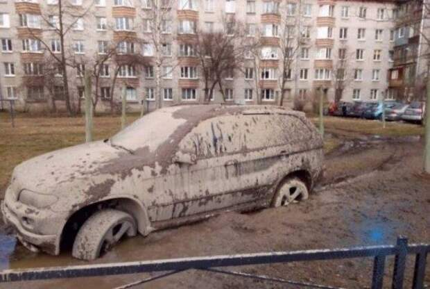 Свежий автоюмор